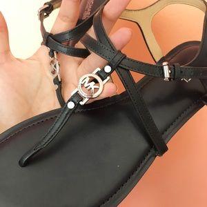 Michael Kors navy blue sandals